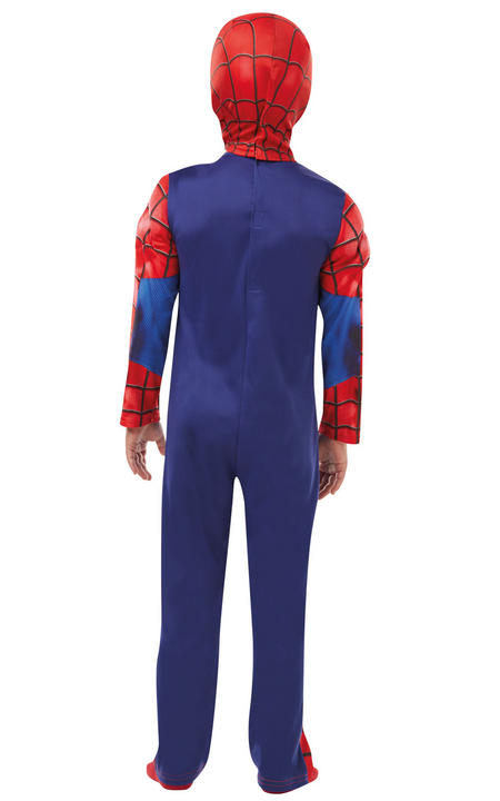 Deluxe Ultimate Spider-Man Marvel Boy's Fancy Dress Costume Thumbnail 3