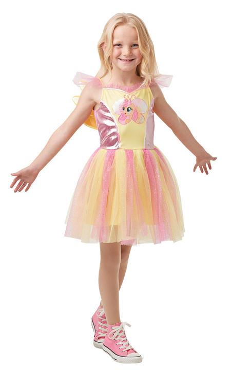 Fluttershy Girl's Fancy Dress Costume Thumbnail 1