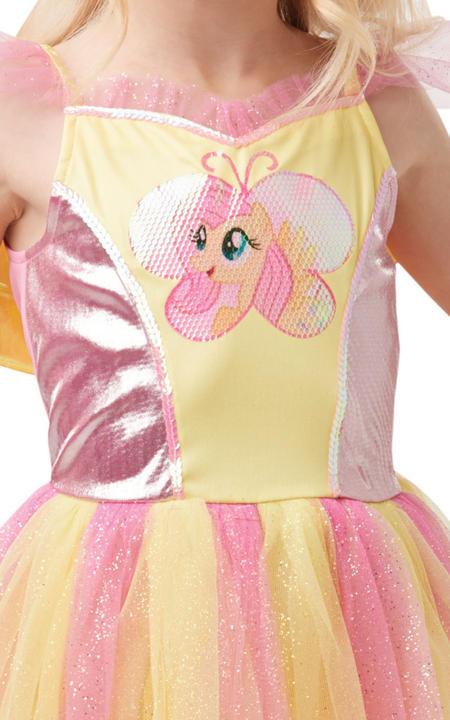Fluttershy Girl's Fancy Dress Costume Thumbnail 2