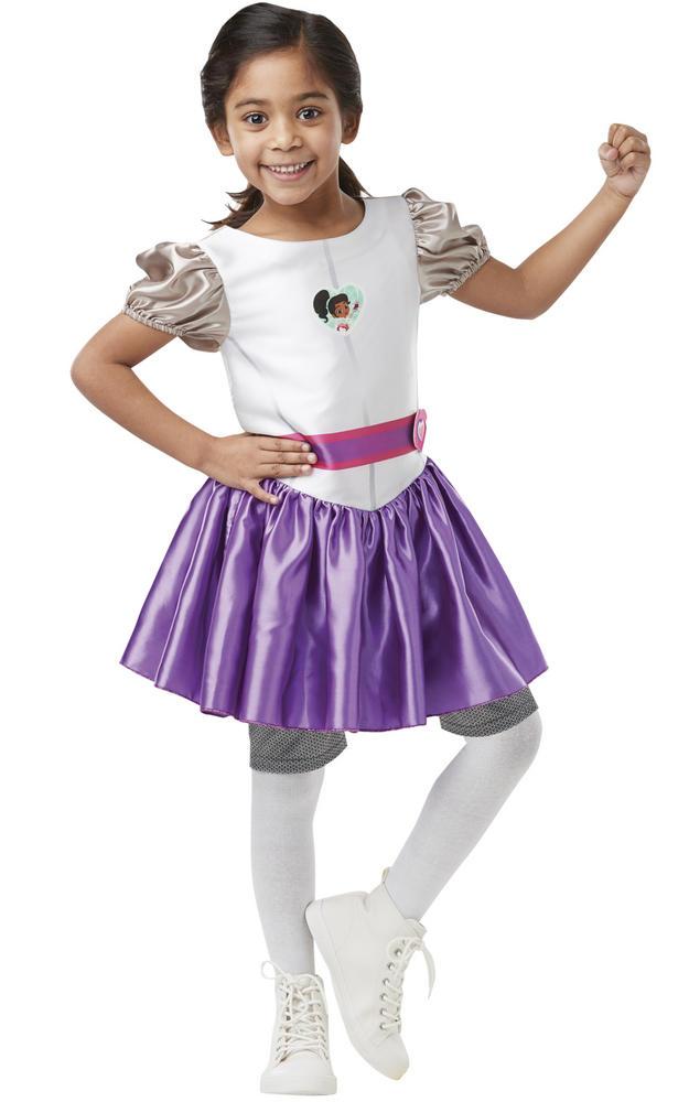 Nella Knight Girl's Fancy Dress Costume