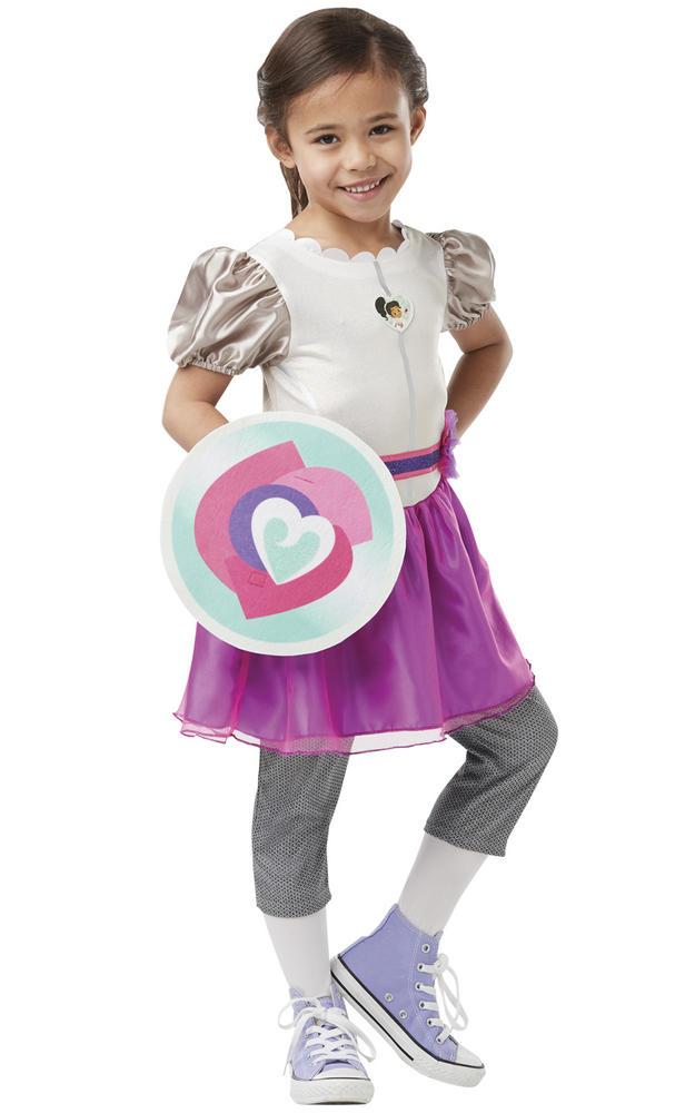 Nella Deluxe Knight Girls Fancy Dress Costume