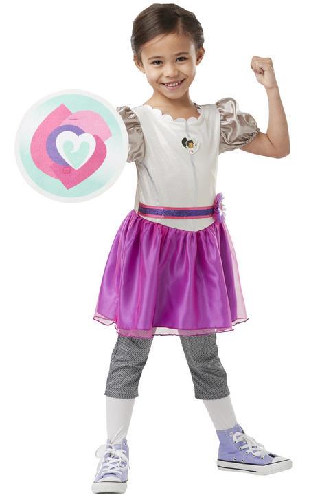 Nella Deluxe Knight Girls Fancy Dress Costume Thumbnail 2