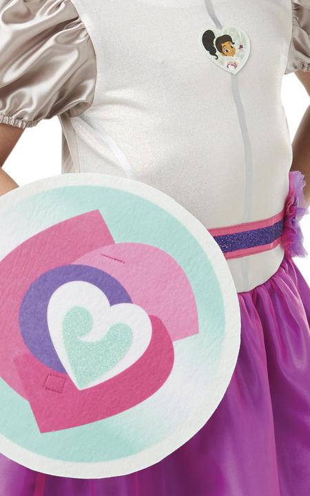 Nella Deluxe Knight Girls Fancy Dress Costume Thumbnail 4