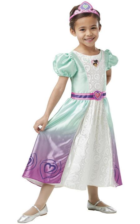 Nella Deluxe Princess Girl's Fancy Dress Costume Thumbnail 1