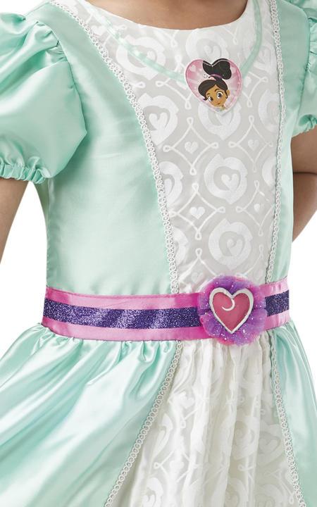 Nella Deluxe Princess Girl's Fancy Dress Costume Thumbnail 2