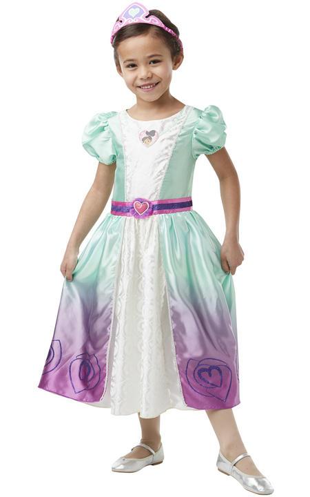 Nella Deluxe Princess Girl's Fancy Dress Costume Thumbnail 3