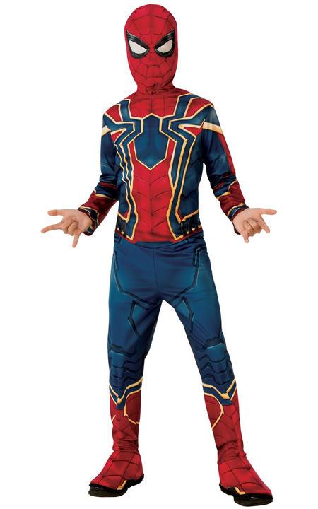 Spiderman Classic Boy's Fancy Dress Costume Thumbnail 1