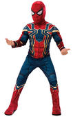 Spiderman Deluxe Marvel Boy's Fancy Dress Costume