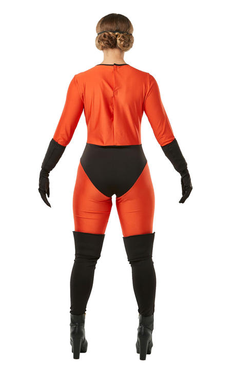 Mrs Incredible Womens Costume Ladies Fancy Dress outfit offical Licensed Thumbnail 3