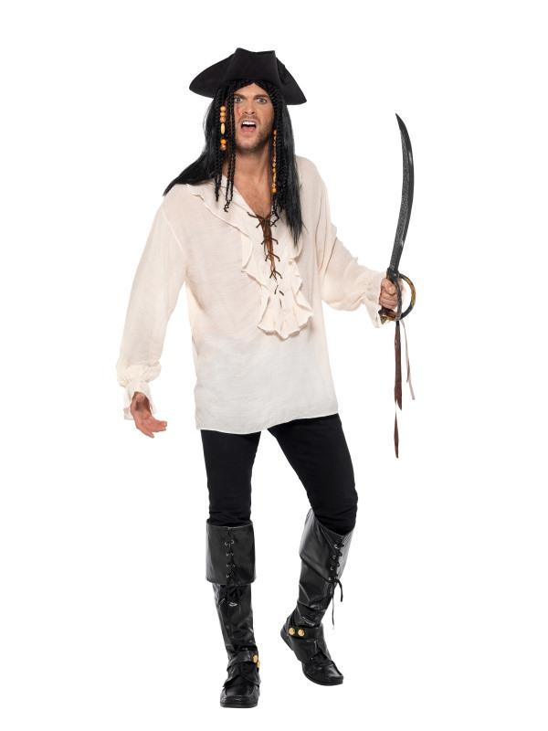 Pirate Shirt Men's Fancy Dress