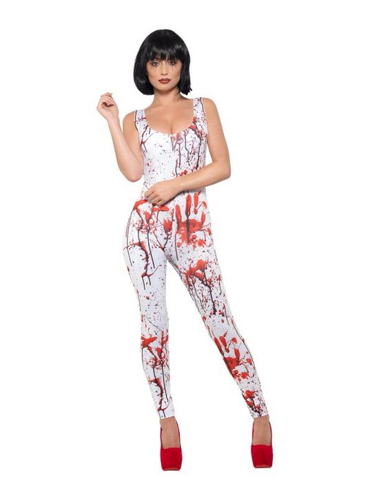 Blood Splatter Women's Fancy Dress Costume Thumbnail 2