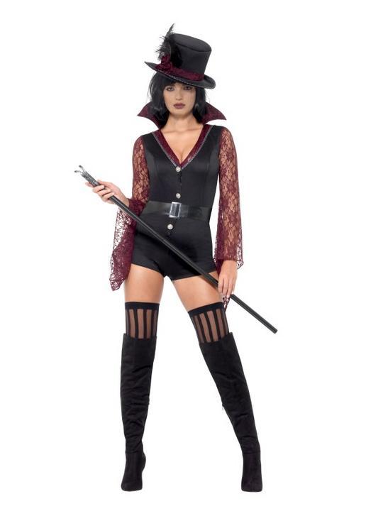 Vampire Women's Fancy Dress Costume Thumbnail 1