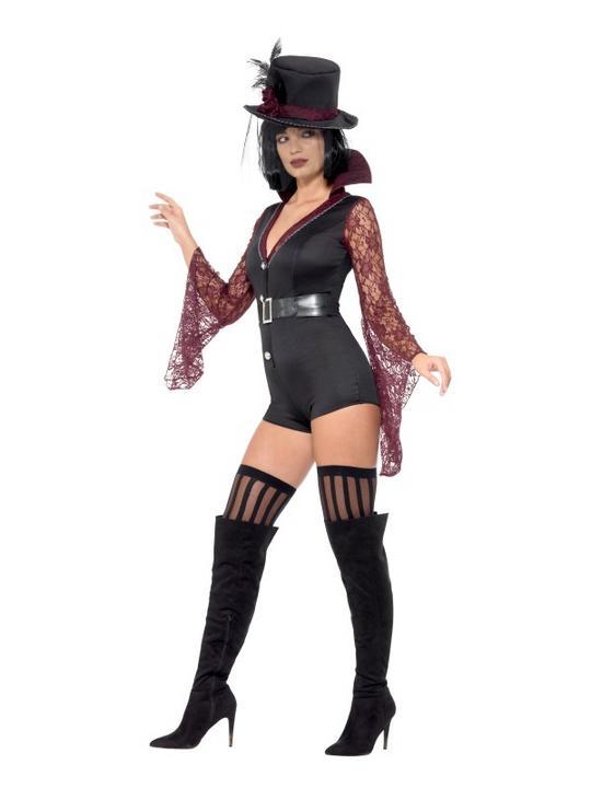Vampire Women's Fancy Dress Costume Thumbnail 4