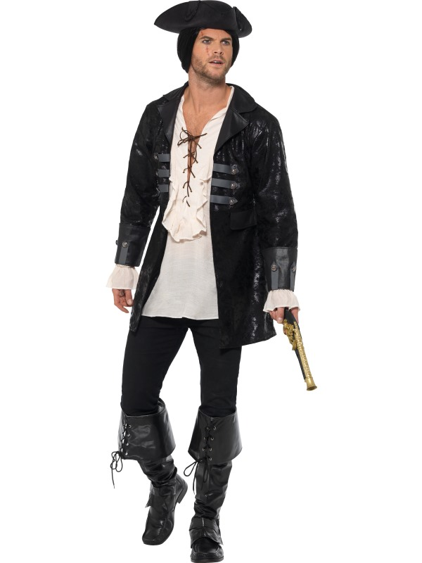 Buccaneer Pirate Jacket Men's Fancy Dress