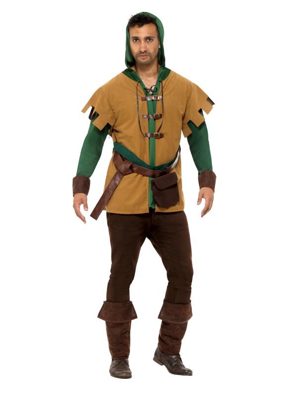 Robin Of The Hood Men's Fancy Dress Costume