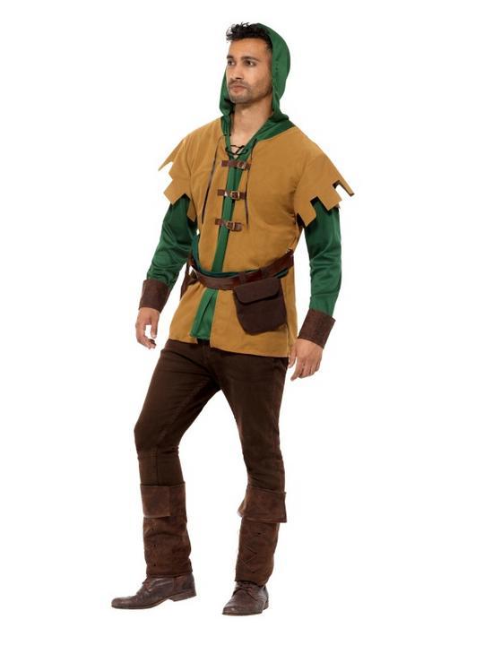 Robin Of The Hood Men's Fancy Dress Costume Thumbnail 2