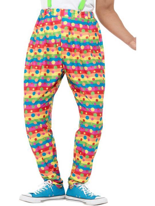 Clown Trousers Fancy Dress Thumbnail 1