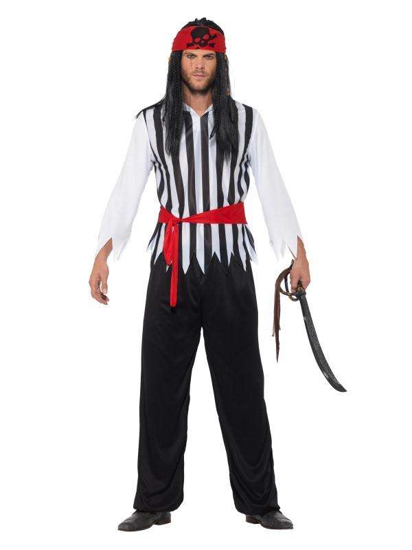 Pirate Men's Fancy Dress Costume