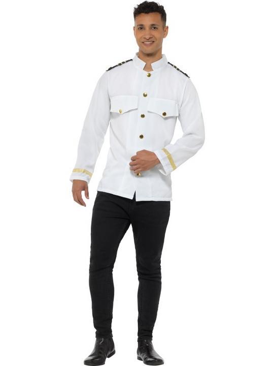 Captain Jacket Men's Fancy Dress Thumbnail 2