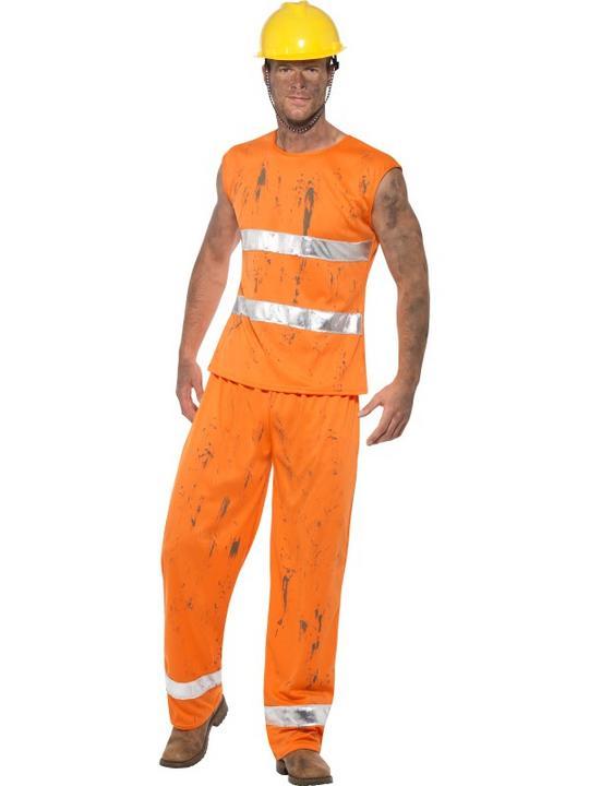 Miner Men's Fancy Dress Costume Thumbnail 2