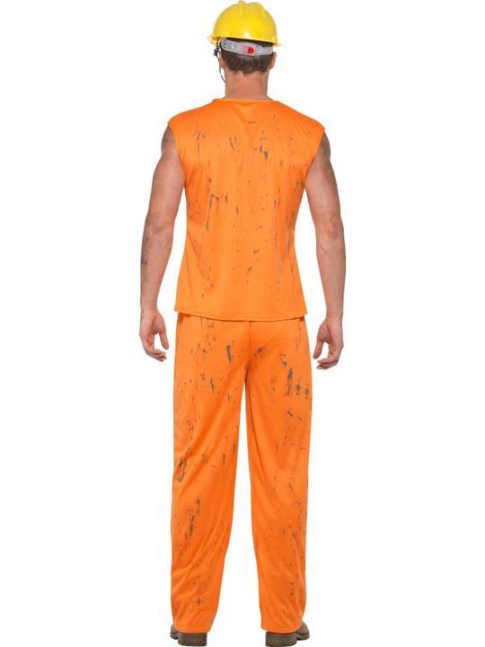Miner Men's Fancy Dress Costume Thumbnail 3