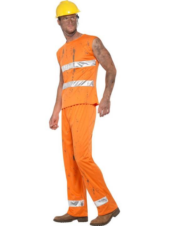 Miner Men's Fancy Dress Costume Thumbnail 4