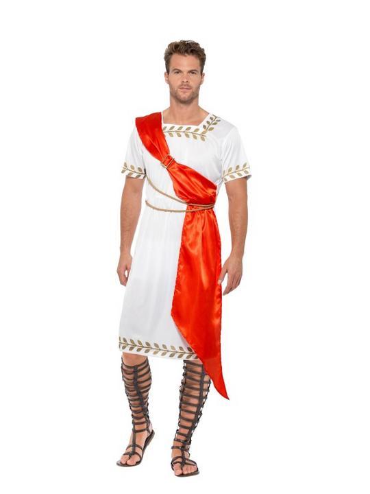 Roman Senator Men's Fancy Dress Costume Thumbnail 2