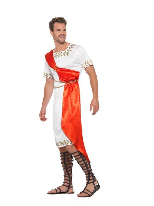 Roman Senator Men's Fancy Dress Costume Thumbnail 4