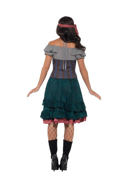 Deluxe Pirate Wench Fancy Dress Costume Thumbnail 2