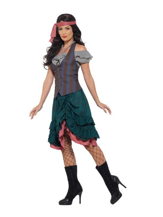 Deluxe Pirate Wench Fancy Dress Costume Thumbnail 3