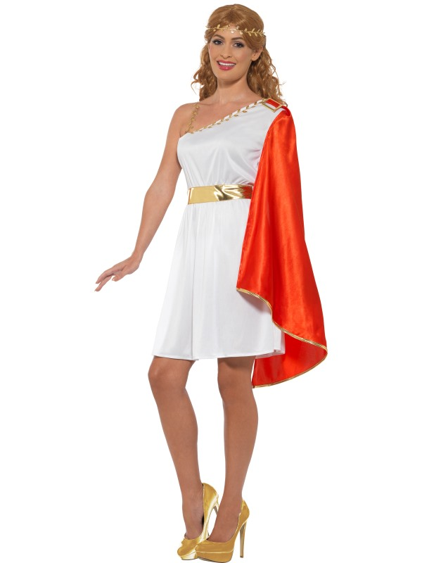 Roman Lady Fancy Dress Costume