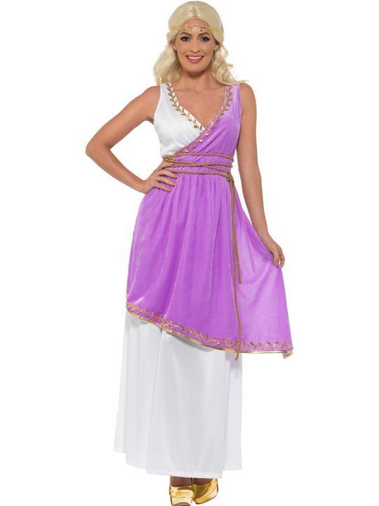 Grecian Goddess Women's Fancy Dress Costume Thumbnail 1