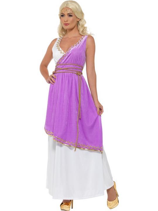 Grecian Goddess Women's Fancy Dress Costume Thumbnail 2