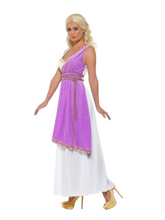 Grecian Goddess Women's Fancy Dress Costume Thumbnail 4