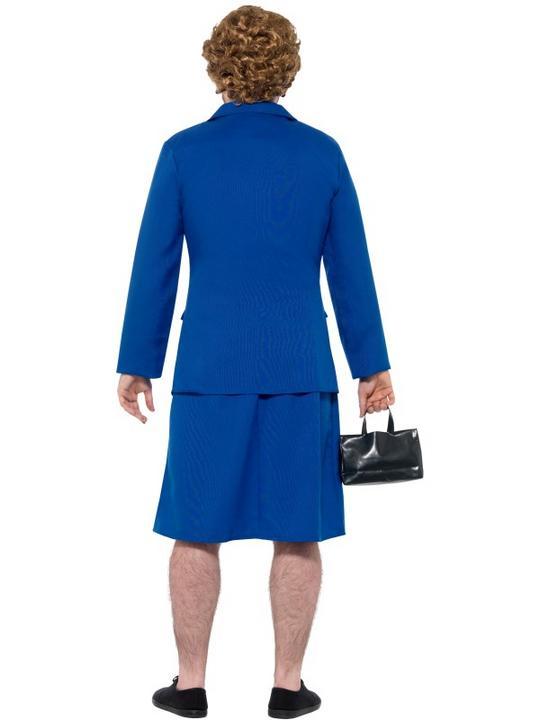 Iron Lady Prime Minister Men's Fancy Dress Costume Thumbnail 3