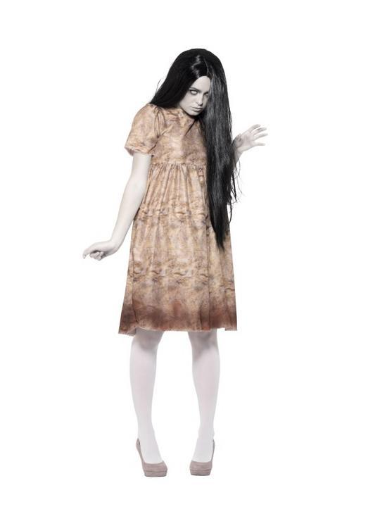 Evil Spirit Women's Fancy Dress Costume Thumbnail 1