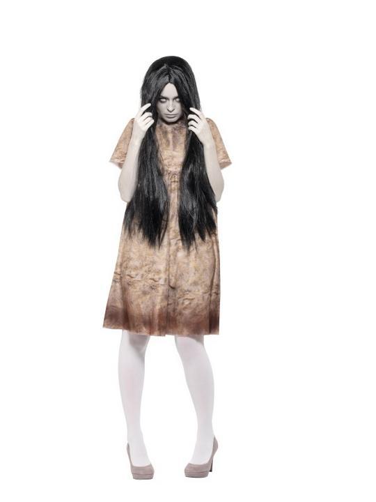 Evil Spirit Women's Fancy Dress Costume Thumbnail 2