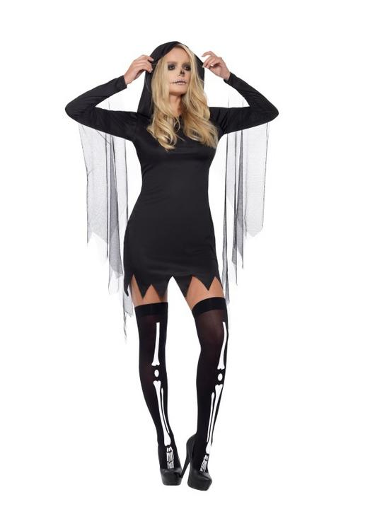 Reaper Sexy Women's Fancy Dress Costume Thumbnail 1