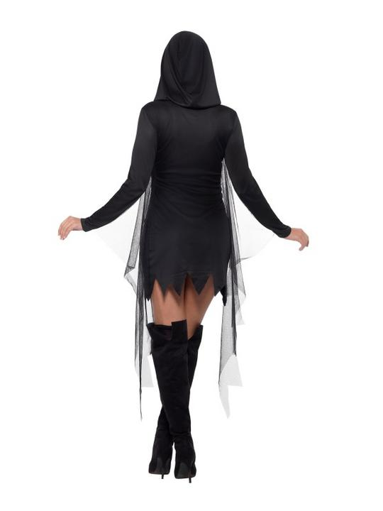 Reaper Sexy Women's Fancy Dress Costume Thumbnail 3
