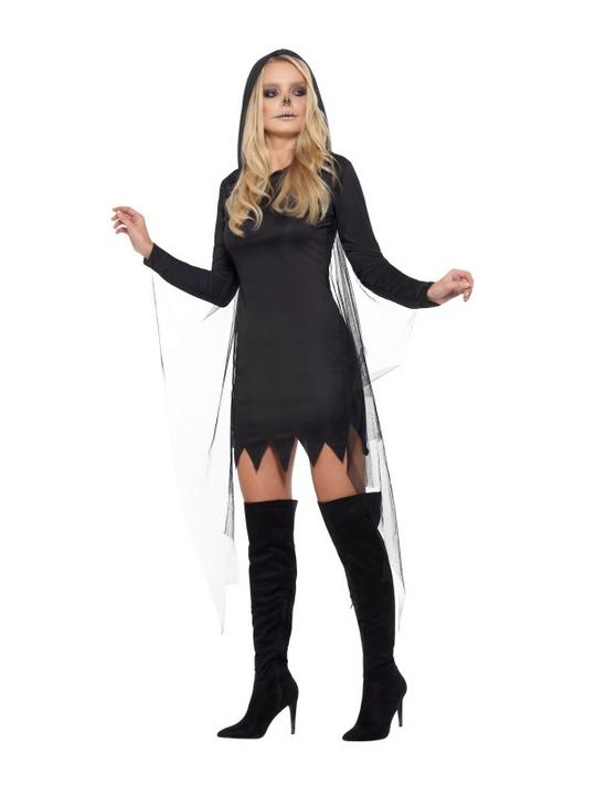 Reaper Sexy Women's Fancy Dress Costume Thumbnail 4