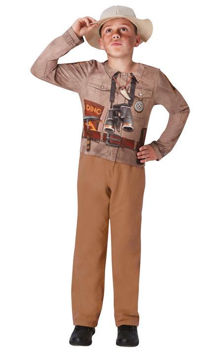 Dino explorer Boy's Fancy Dress Costume Thumbnail 1
