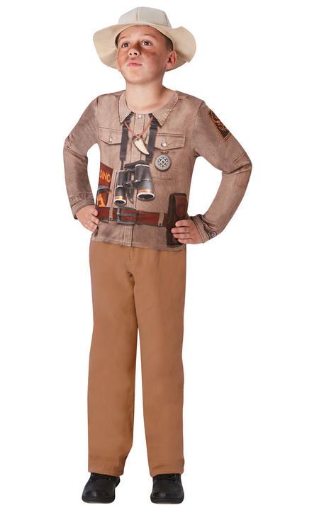 Dino explorer Boy's Fancy Dress Costume Thumbnail 2