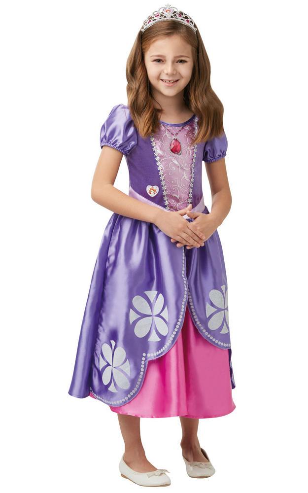 Sofia Deluxe Girls Fancy Dress Costume