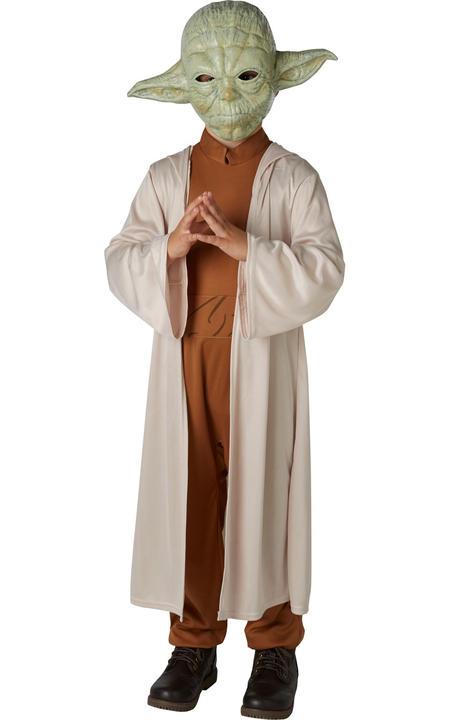 Yoda Star Wars Disney Teen Boy's Fancy Dress Thumbnail 1