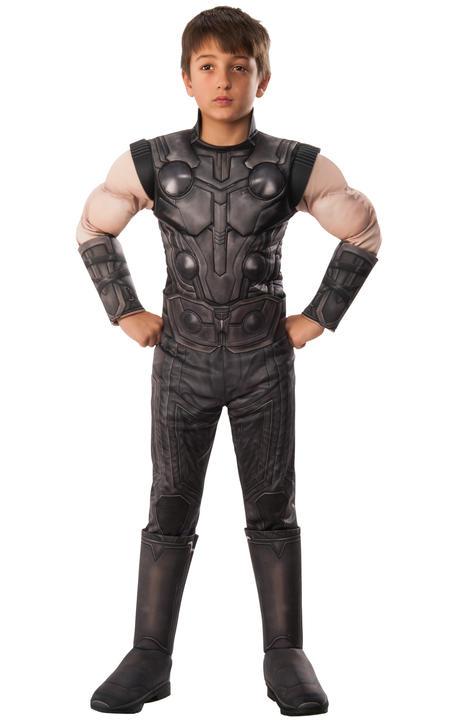 Thor infinity War Marvel Deluxe boy's Costume Thumbnail 1