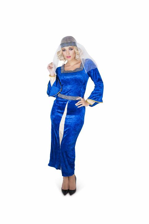 Medieval Queen Warrior Womens Costume Ladies Fancy Dress Outfit Roman Royal Thumbnail 1