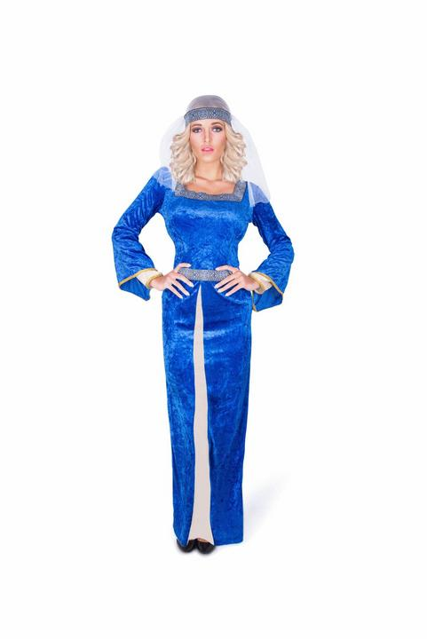 Medieval Queen Warrior Womens Costume Ladies Fancy Dress Outfit Roman Royal Thumbnail 2