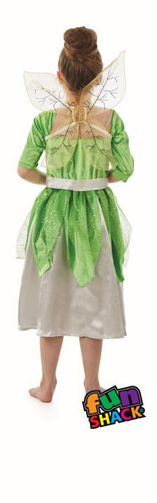Pixie Fairy girl's Fancy Dress Costume Thumbnail 1