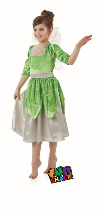 Pixie Fairy girl's Fancy Dress Costume Thumbnail 3