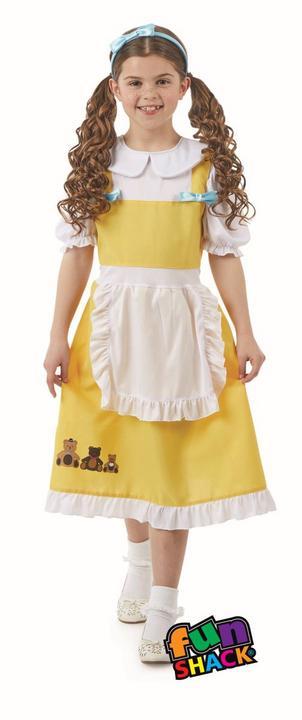 Goldilocks Girl's Fancy Dress Costume Thumbnail 1